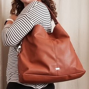 Jewell by Thirty-One Cognac Brown Hobo Bag
